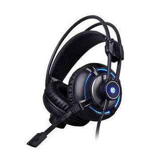 BNIB HP H300 Gaming Headset + USB 3.5mm sound adapter