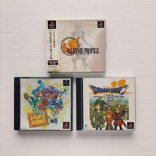 Playstation PS1 Valkyrie Profile , Dragon Quest