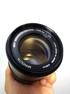 Minolta MD Celtic 135mm F3.5 (Minolta MD mount)