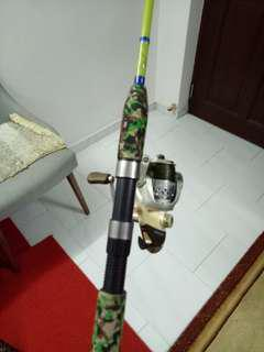 Crocodile 210Rod +inspira Okuma reel
