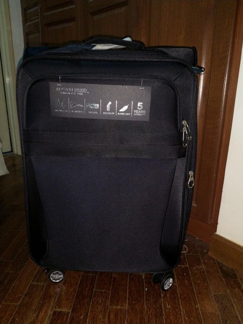 New 24 Austin Reed Medium Size Bag Luggage 5 Years Warranty Parkson Aeon On Carousell