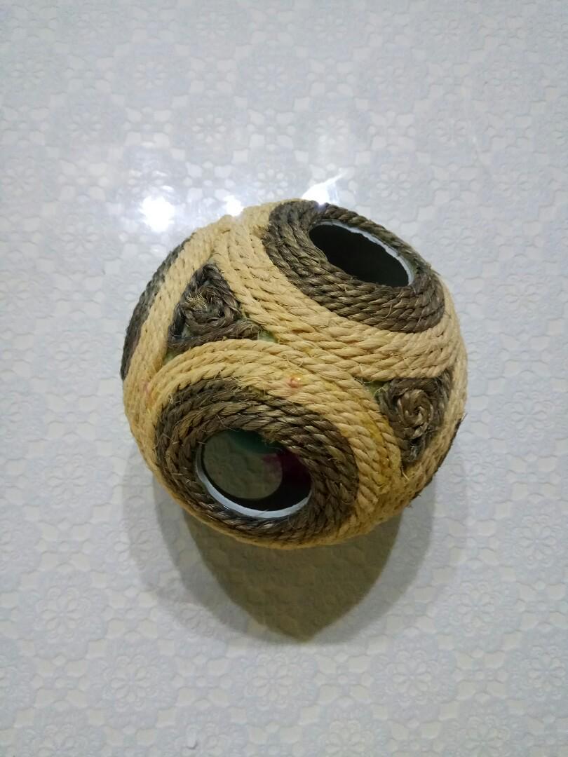 寵物玩具 麻繩磨爪貓玩具