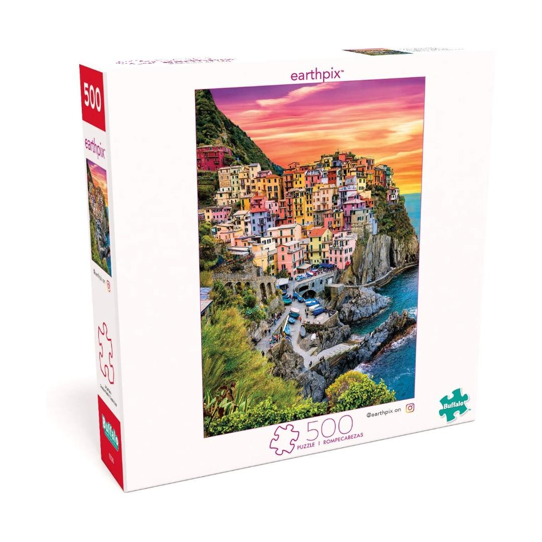 bd7a963d1ef6 🆕 Buffalo Games - Earthpix Collection - Cinque Terre Sunset - 500 ...