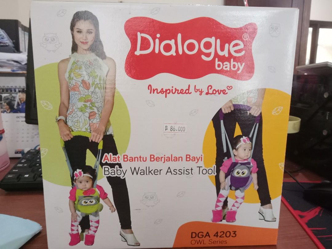 Dialogue Baby Walker Assist Tool Alat Bantu Berjalan Bayi Owlseries Push Musical Belajar Jalan Anak Kereta Kursi Goyang Gendongan