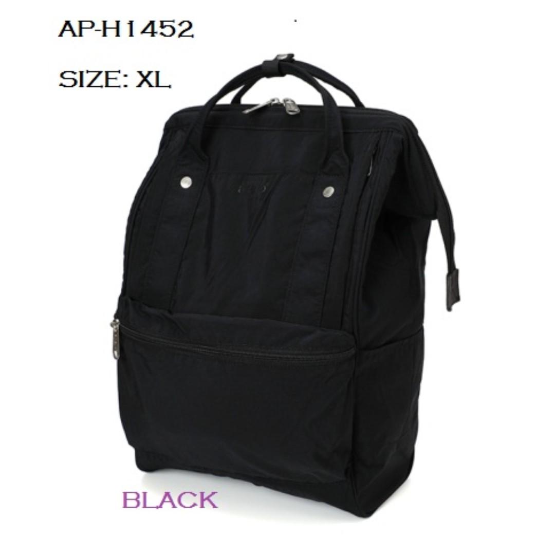 AP-H1452  ANELLO COTTON NYLON STYLE 10 POCKET MOUTHPIECE BACKPACK ... d81a126f4277
