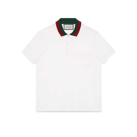 2ab5ca363 Authentic Gucci Polo with Web collar shirt