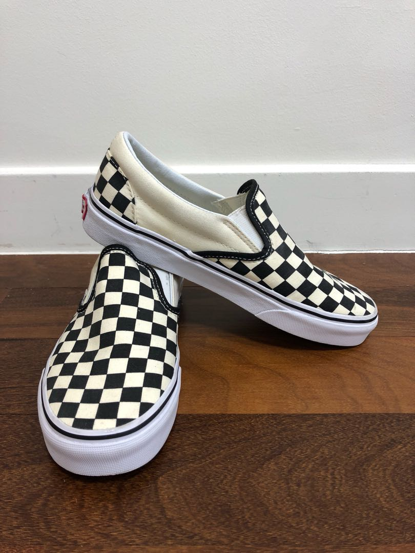 4b24db04900f3d AUTHENTIC Vans Checkerboard Slip On