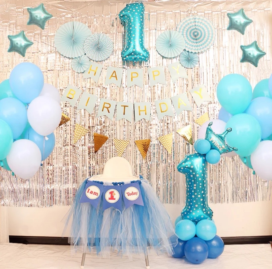 Baby Full Month 1 Month Celebration Party Set Decor