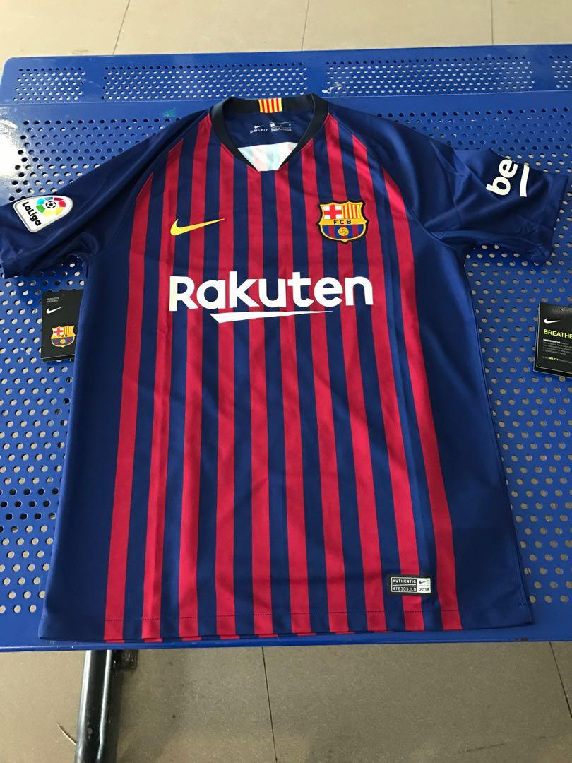 official photos 69dad 15a28 Barcelona Home Jersey Authentic 2018/2019, Sports, Sports ...