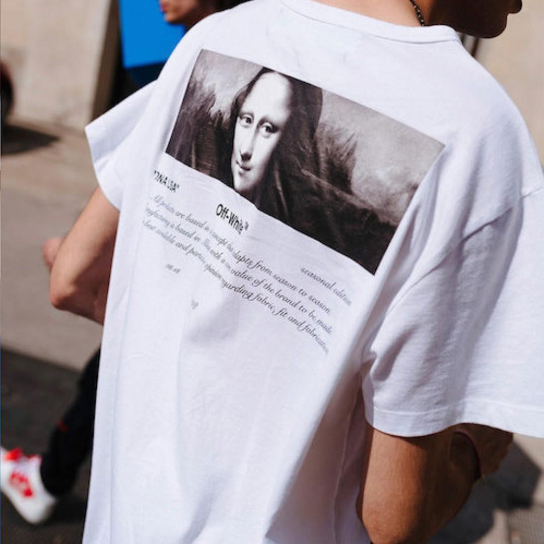 db5aad78 BNIB Off white For All Mona Lisa Tee 04