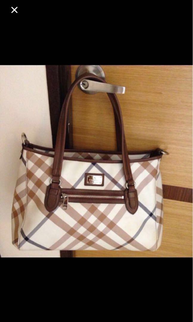 e0f7cc5605e39 Burberry Blue Handbag / Tote Bag