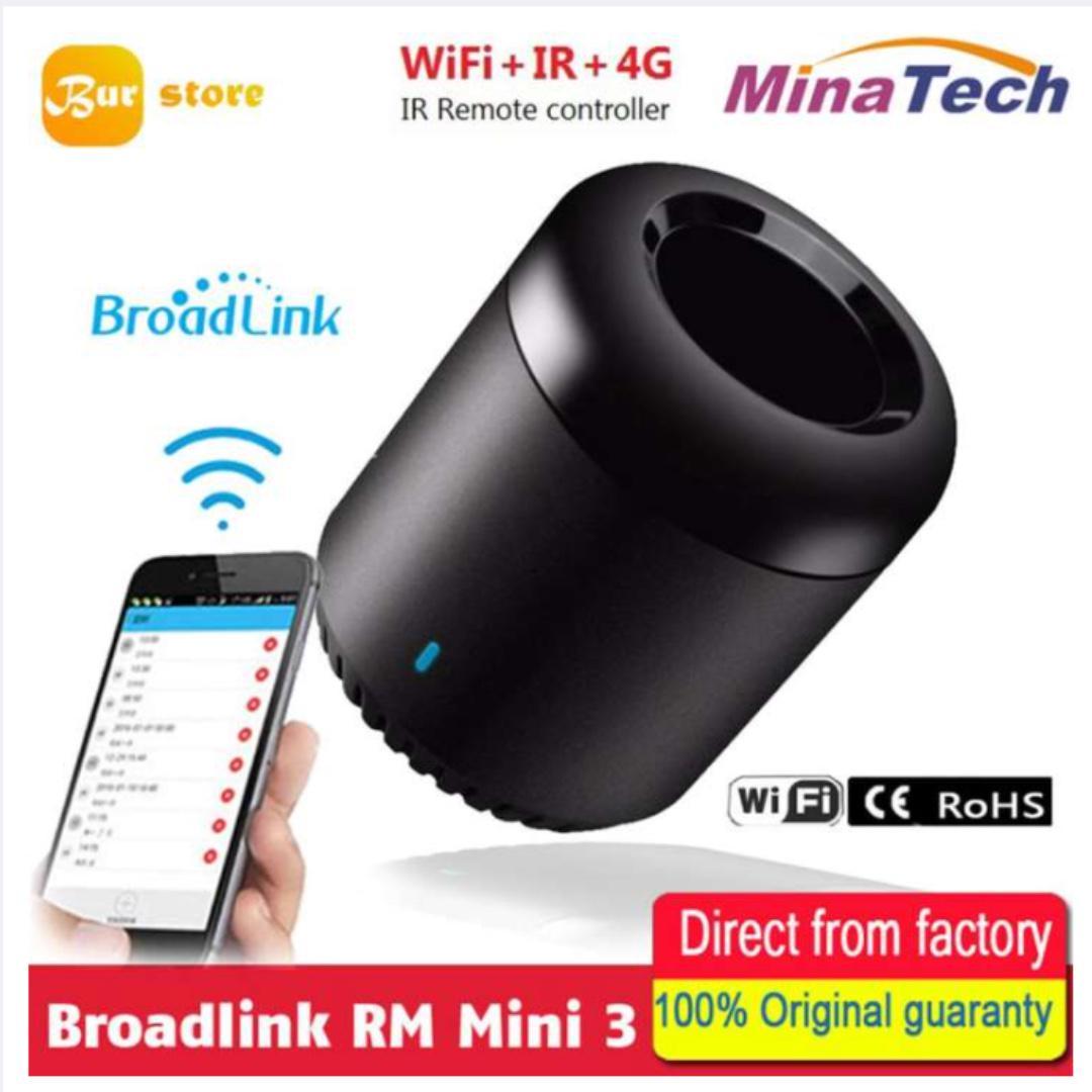 Burstore Broadlink RM Mini3,Smart Home Automation,WiFi+IR