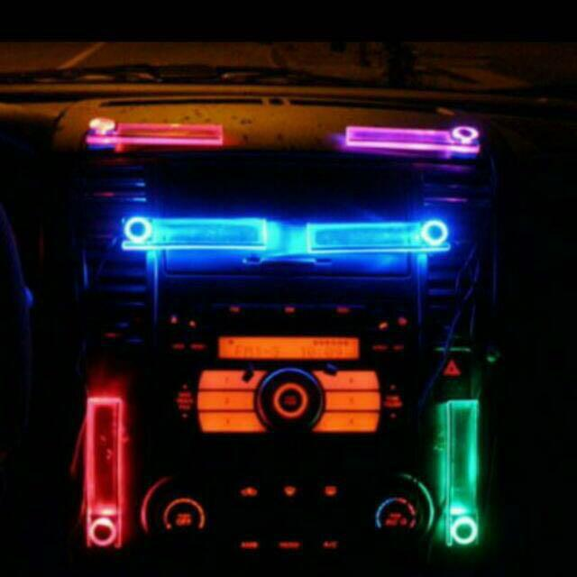 Car Decorations Interior Interchangeable Led Lights, Car