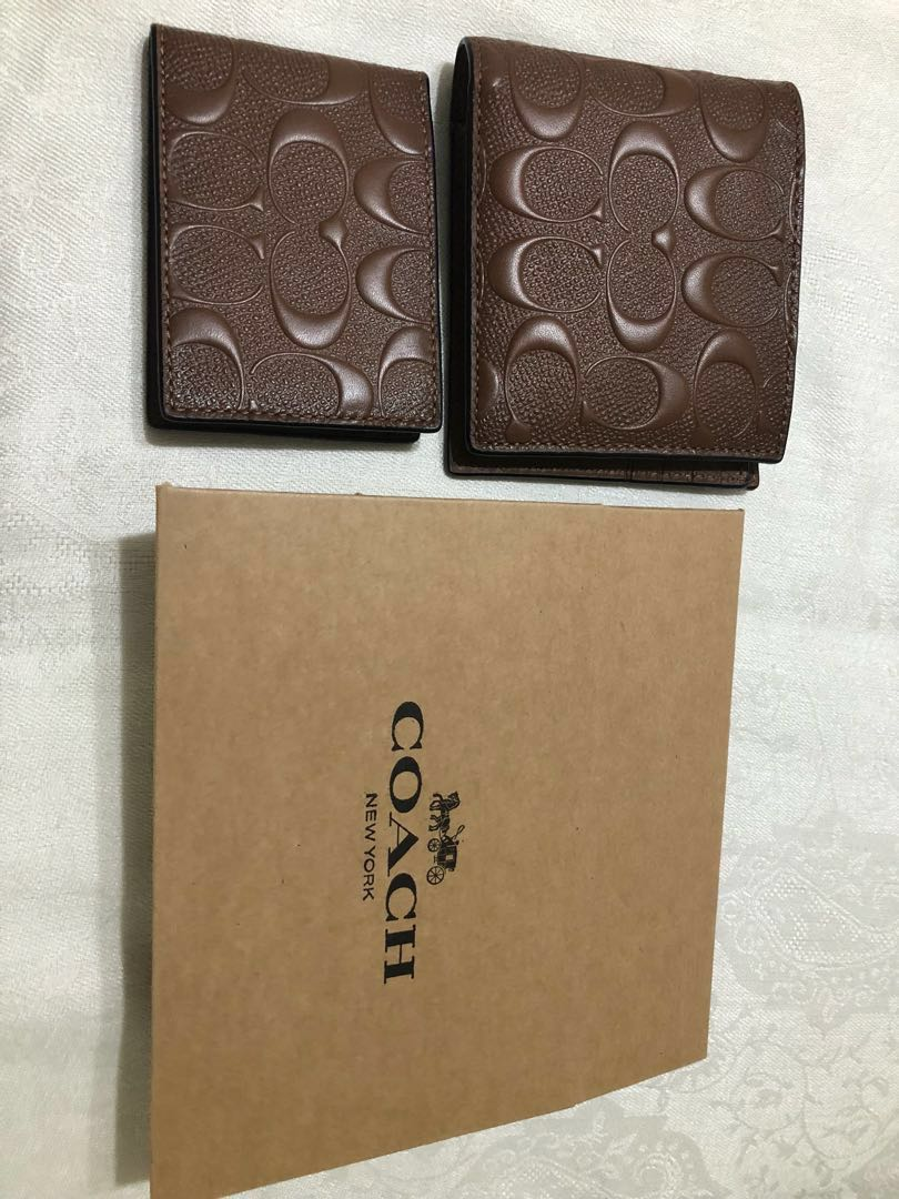 dfe80f61f674 ... switzerland coach mens wallet with box and bag mens fashion bags  wallets wallets on carousell a091a