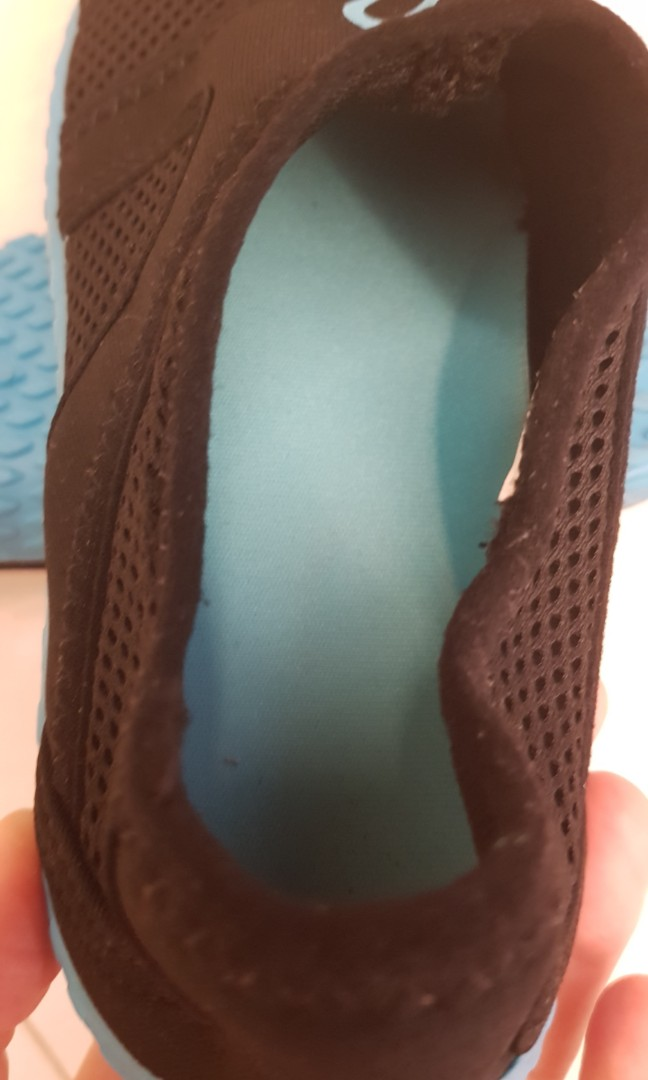 f7bebc4a94e7 Decathlon 100 Aquashoes (black   turquoise)