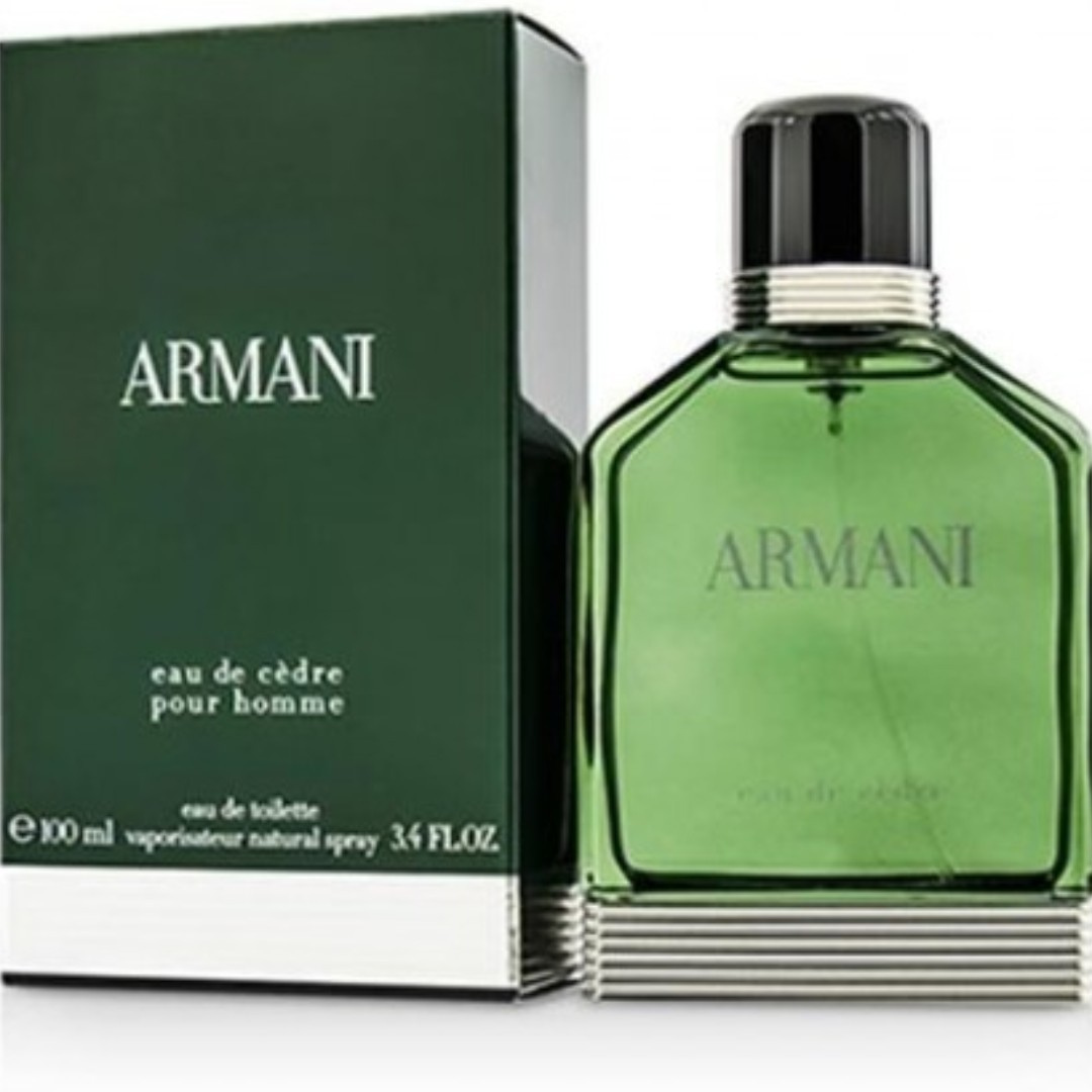 a394667d256 GIORGIO ARMANI ARMANI EAU DE CEDRE MEN EDT 100ML, Health & Beauty ...