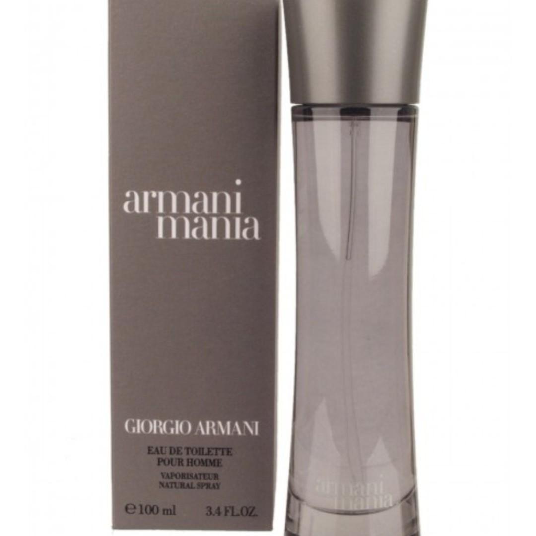 Giorgio Armani Mania Men Edt 100ml Health Beauty Perfumes