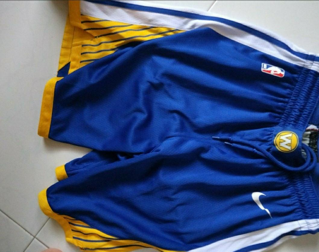 hot sale online b4856 7c12c Golden state warriors Home jersey shorts, Sports, Sports ...