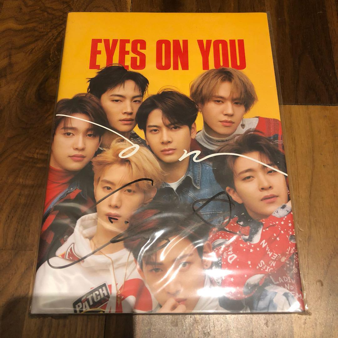 GOT7 Yugyeom Eyes on You Mwave Signed Album