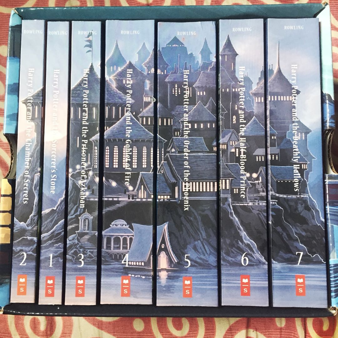Harry Potter Book Set Books Books On Carousell