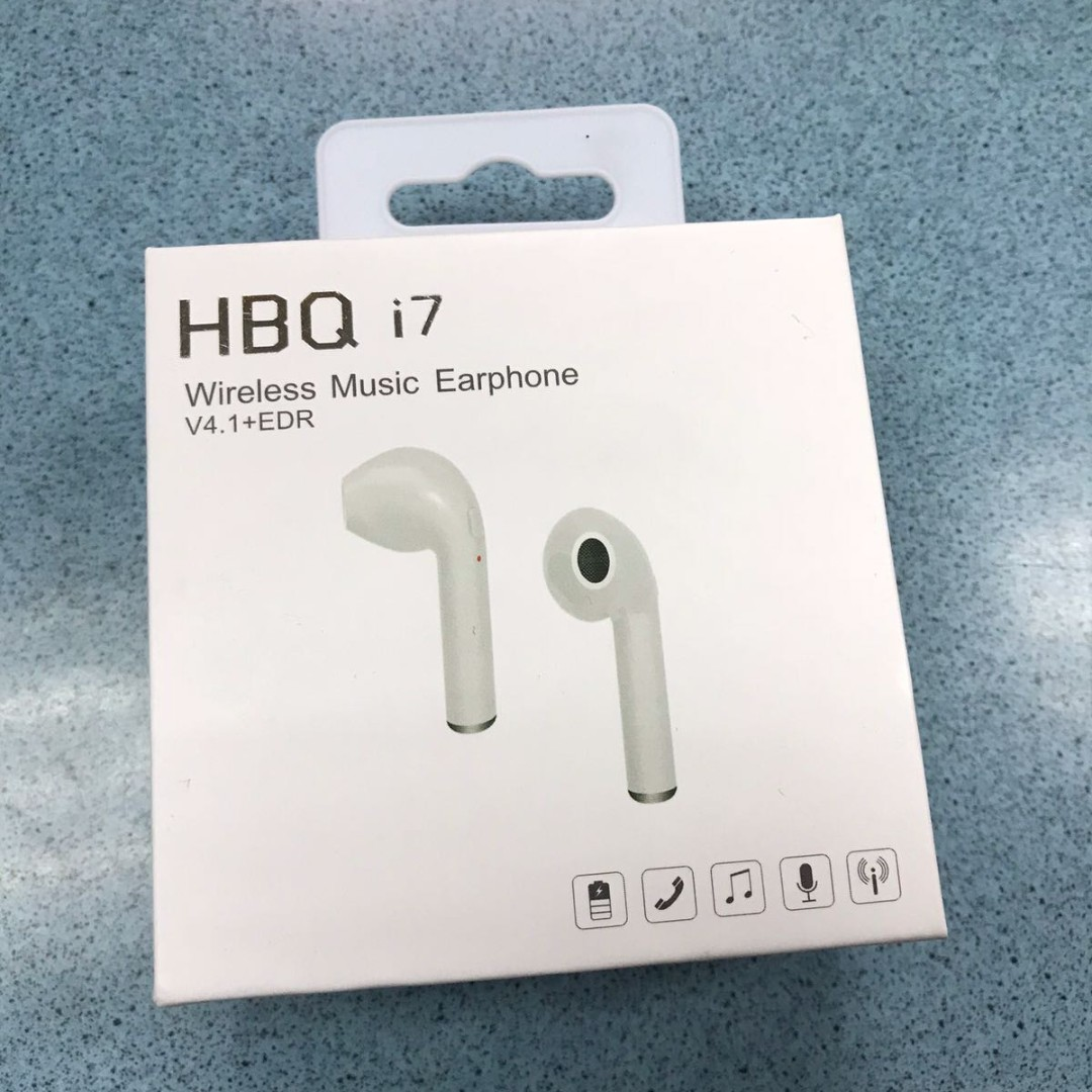 cfd8b0e4e1c HBQ i7 Wireless Music Earphone, Mobile Phones & Tablets, Mobile ...