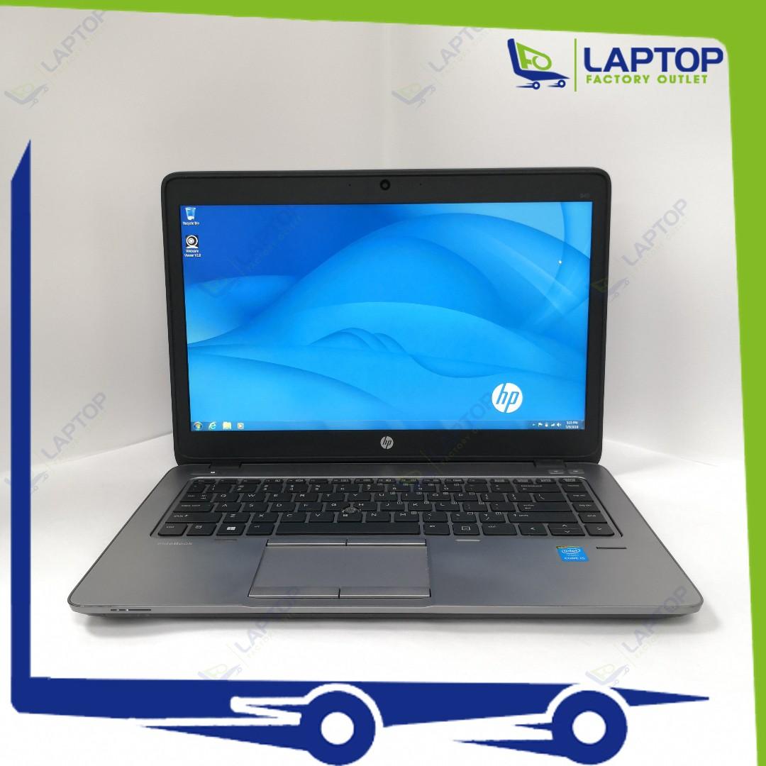 HP EliteBook 840 G2 (i5-5/8GB/256GB) [Premium Preowned