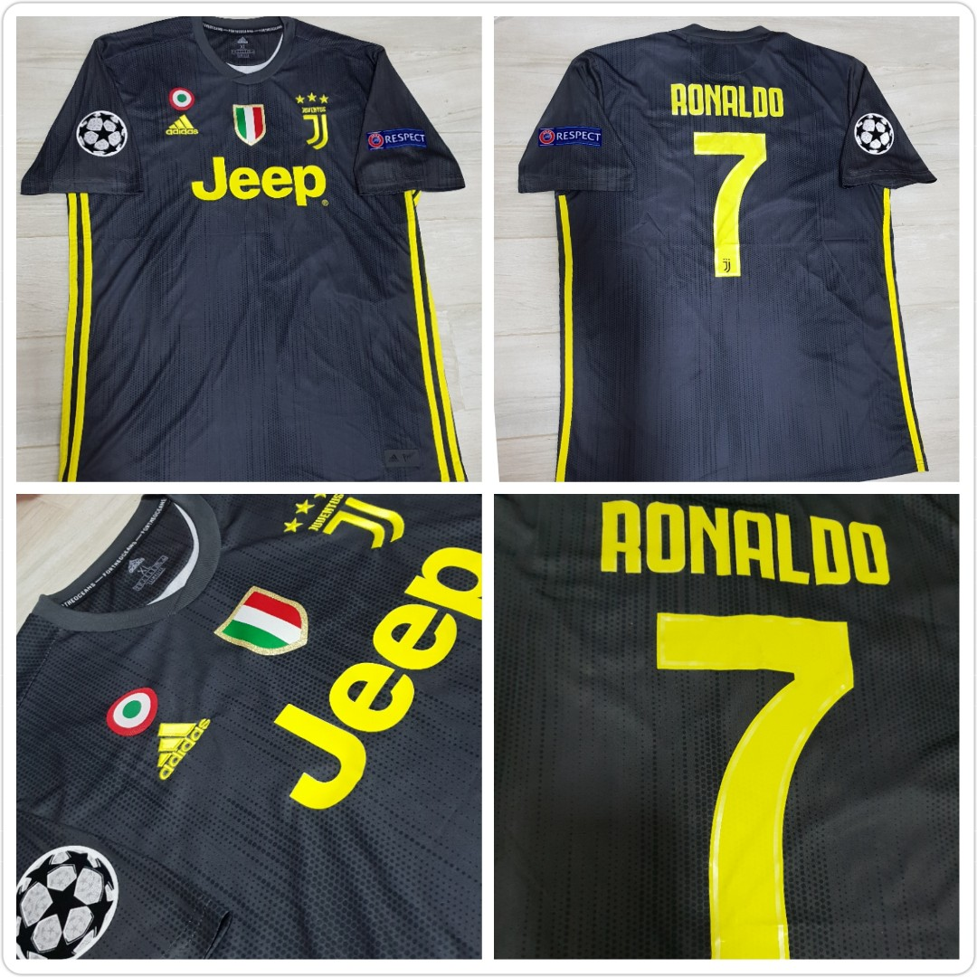 2a33ebdd1 Juventus 3rd Kit jersey 18 19