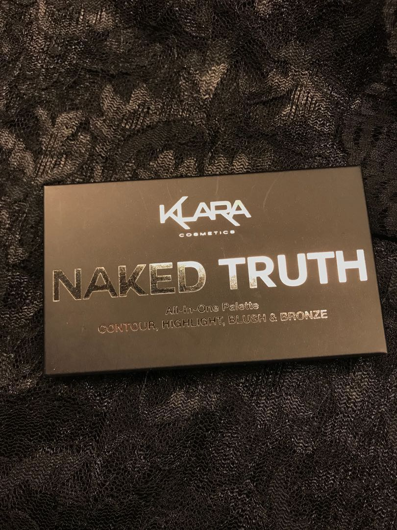 Klara Naked Truth All In One Palette Health Beauty Makeup On Liquid Eyeliner 1 Black Carousell