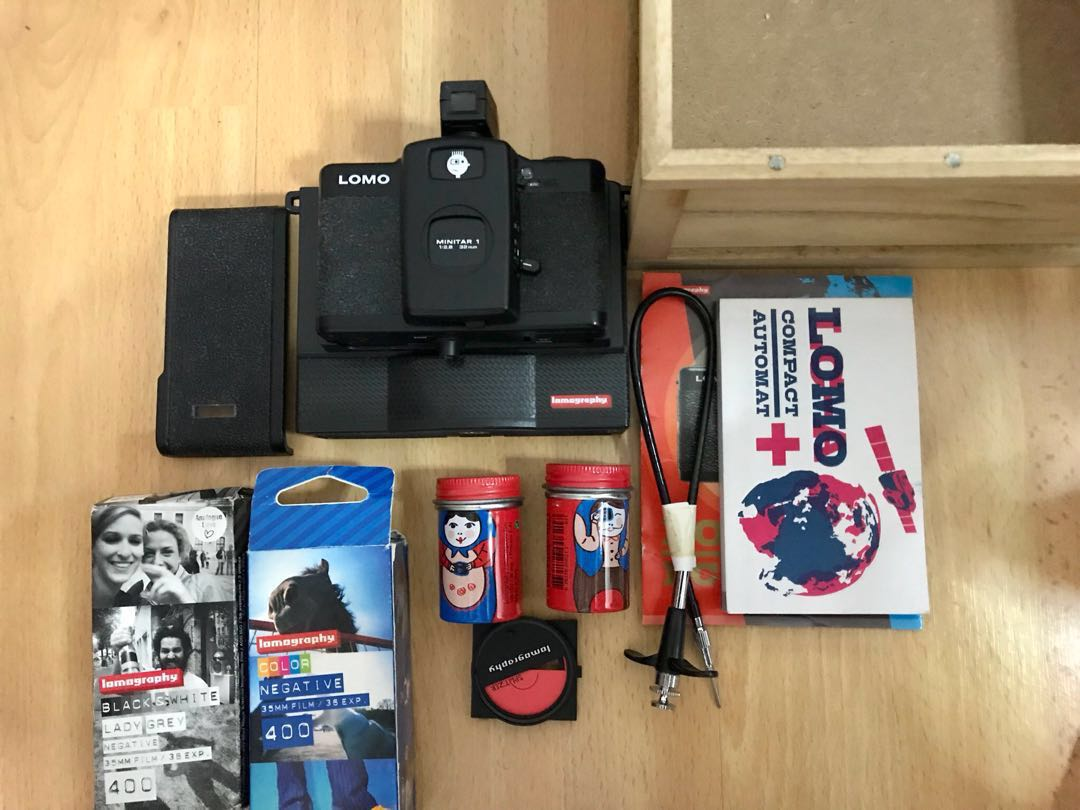 Lomo Lc A Camera Instant Back L Accessories Lomography Lenses San Sebastian Edition Photography Cameras Others On Carousell