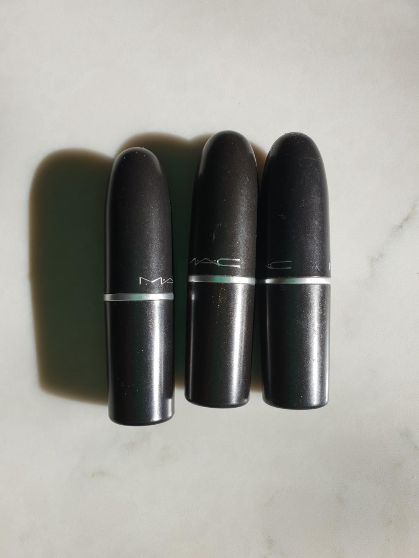 Mac lipsticks bundle