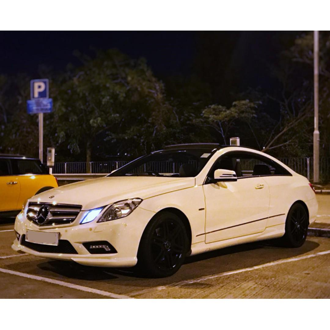 MERCEDES-BENZ E350 COUPE 2011