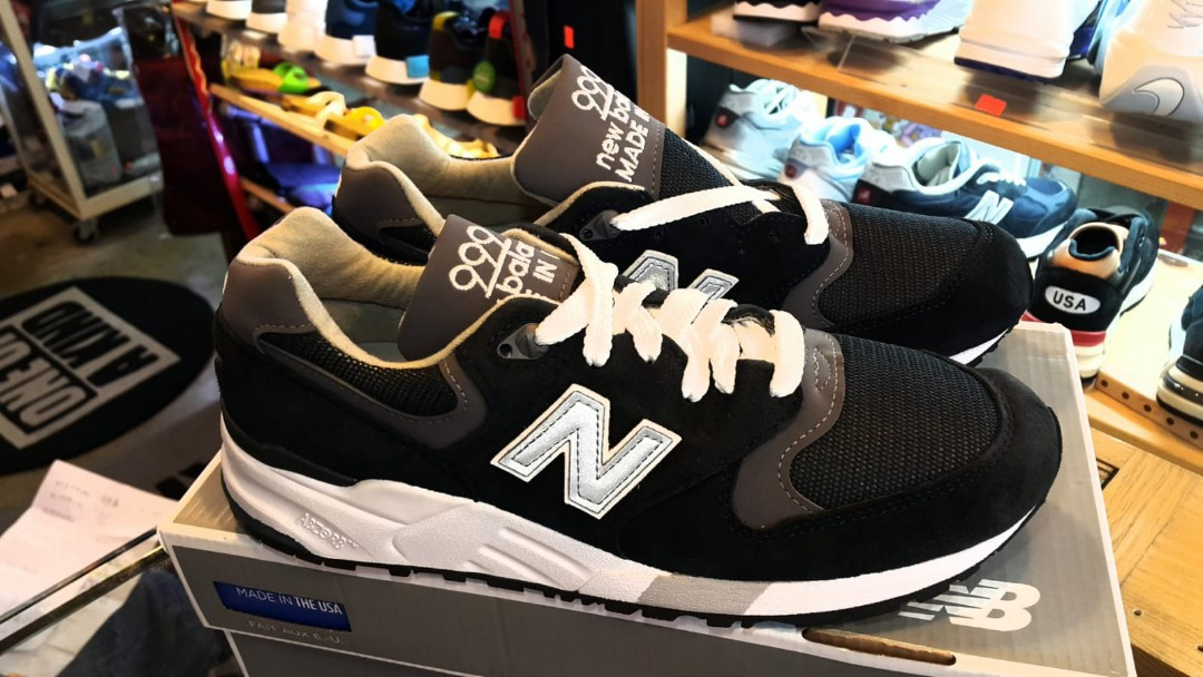 the latest 14447 53bb0 New Balance 999 M999CBL , Navy/Pewter Made in USA, us7 40 25cm