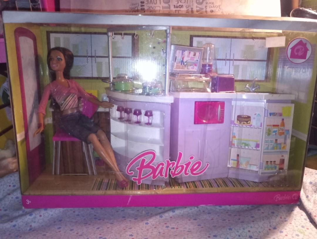 Original Barbie Kitchen Playset Brandneelw On Carousell