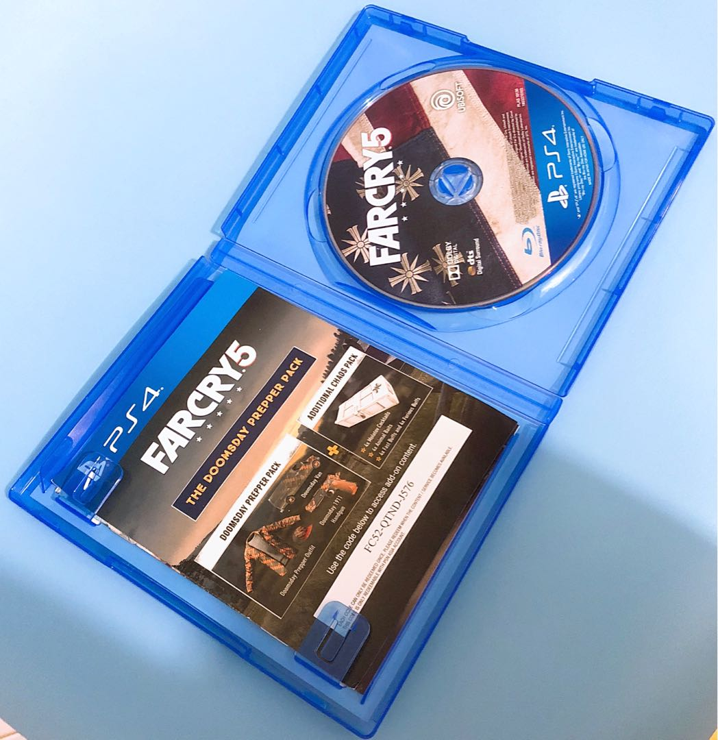 PS4 極地戰嚎5 Farcry 5 連code(中英文)