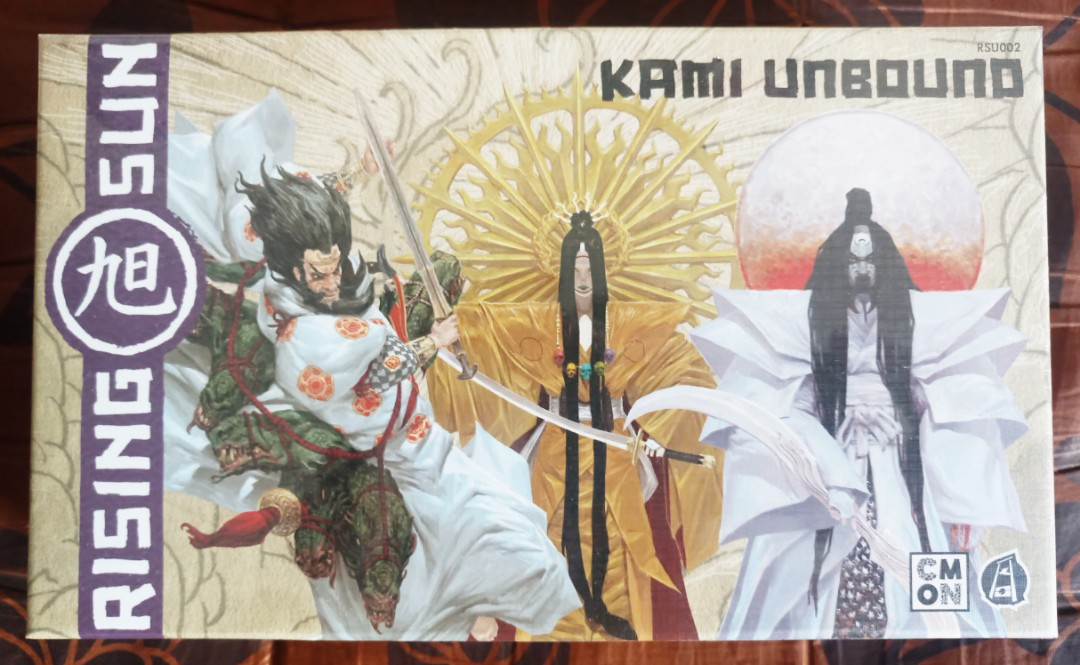 CMON Rising Sun Kami Unbound Expansion New in shrink wrap