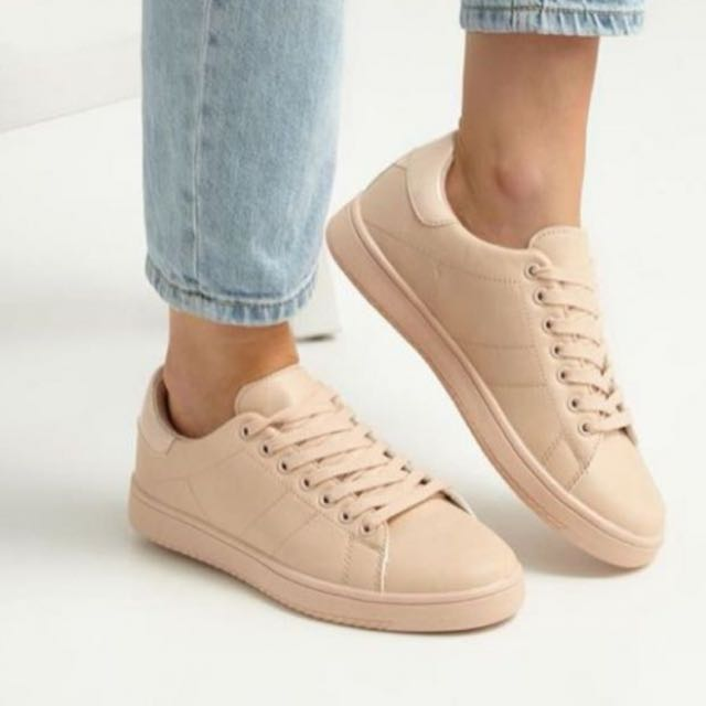 827a08928567 Rubi cotton on nude sneakers