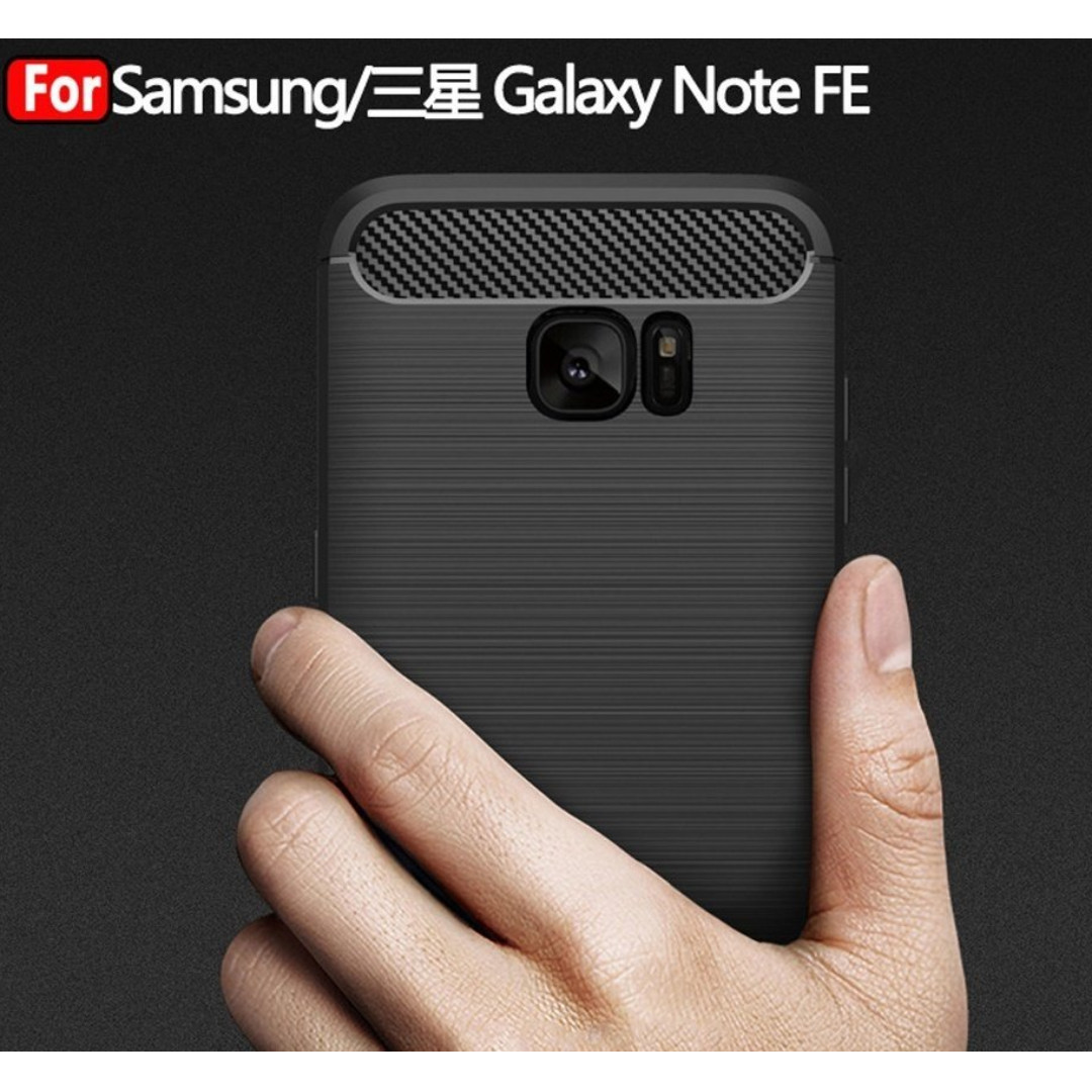 Samsung Note Fe Carbon Fiber Soft Case Cover Mobile Phones Best Galaxy 9 Cases Android Central