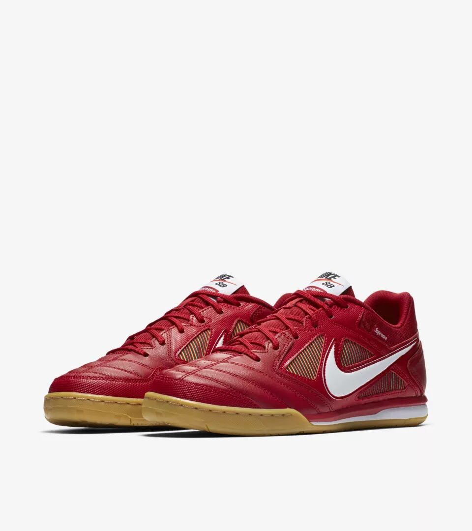 8437362680d Supreme Nike SB Gato Red US 8