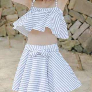 韓國清新保守溫泉泳衣 BIKINI