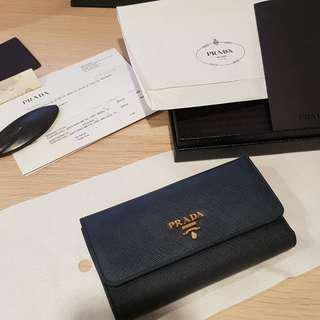 ✔️NEGO Prada Saffiano Wallet in Navy