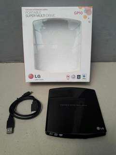 LG Portable DVD External