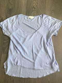 Forever 21 Linen T Shirt Size Small