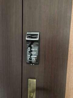 FREE INSTALL 1 year warranty digital lock fingerprint / pin access