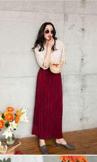🚚 百折長裙