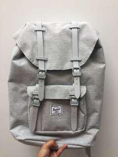 Little America Hershel Light Gray Backpack