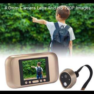 Peephole with camera and doorbell for door digital !!! Hot sales