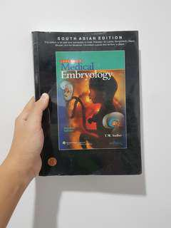 Langman's Medical Embryology (south asian edition)