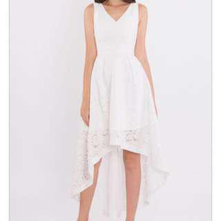 Doublewoot High Low Lace Dress