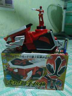 POWER RANGER HASHIRE SAMURAI SENTAI SHINKENGER GOD FOLD LION