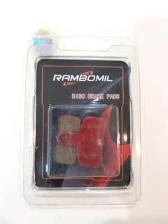 **In-Stock = Disc Brake Pads for AM Tempo Caliper